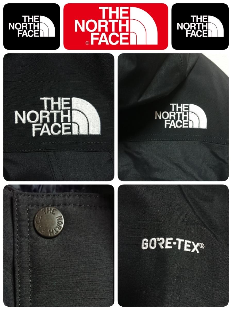 【超稀少XS】新品 18AW THE NORTH FACE ノースフェイス GORE-TEX Mountain Down Jacket マウンテンダウンジャケット ブラック 即完売_画像7