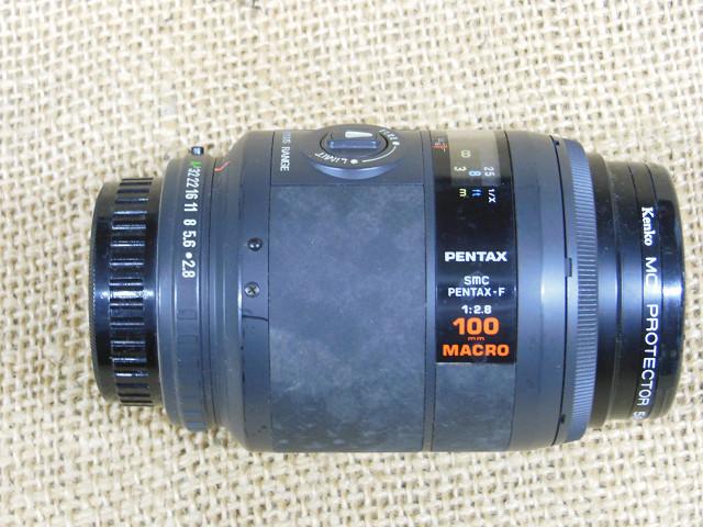 SMC PENTAX-F 1:2.8 100mm MACRO