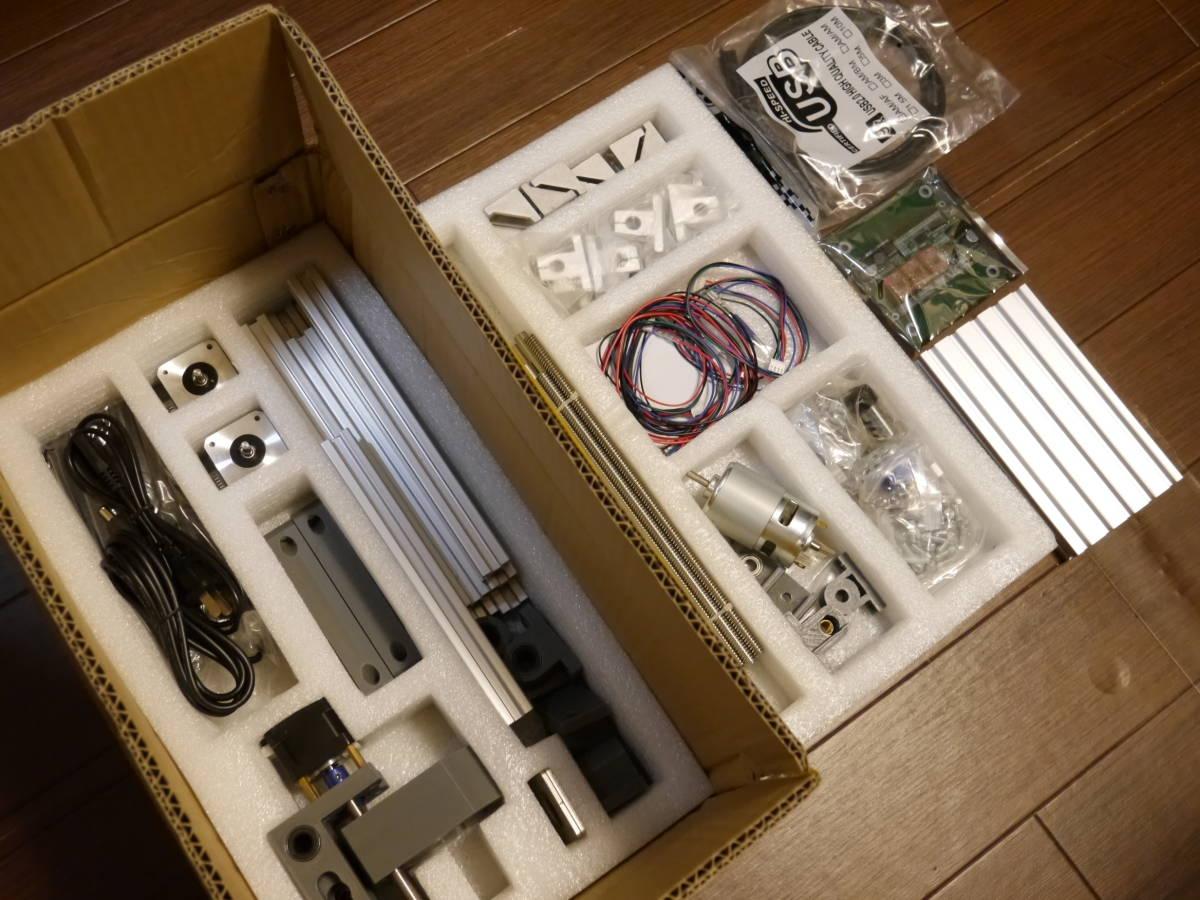【開封・未使用】CNC1610 ミニCNCフライス盤 組み立てキット 彫刻機 DIY