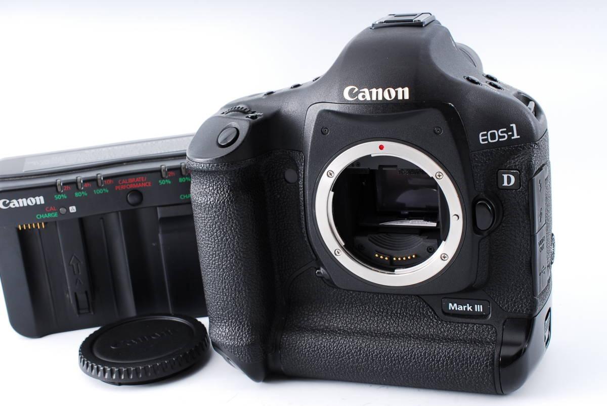 ★極上品★Canon キヤノン EOS-1D Mark III マーク3 ボディ★92