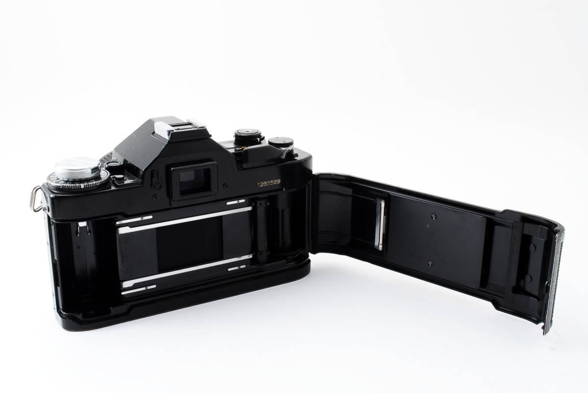 Canon A-1 50mm F1.4 S.S.C. FD キャノン A1 ブラック 一眼レフ フィルム カメラ_画像10
