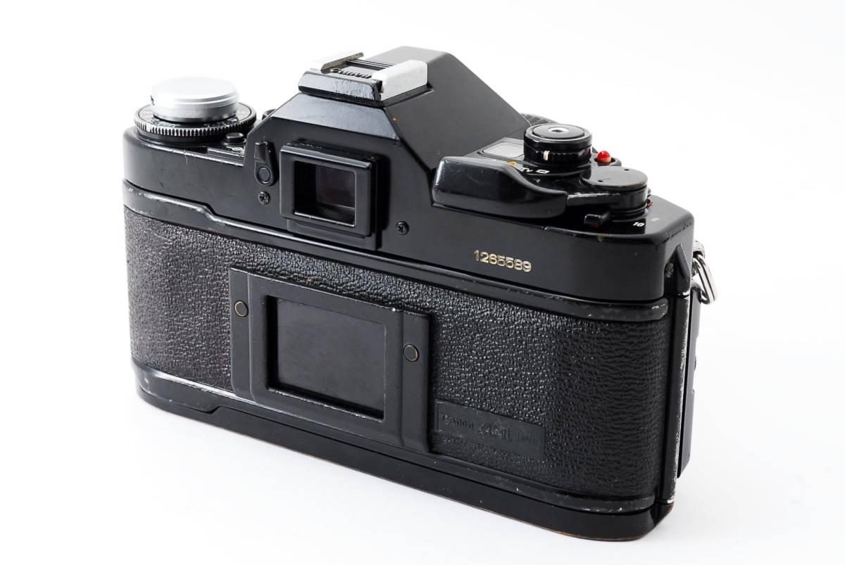 Canon A-1 50mm F1.4 S.S.C. FD キャノン A1 ブラック 一眼レフ フィルム カメラ_画像4