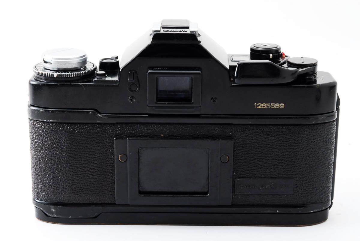 Canon A-1 50mm F1.4 S.S.C. FD キャノン A1 ブラック 一眼レフ フィルム カメラ_画像5