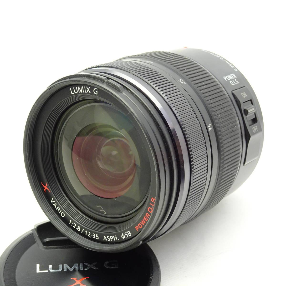 Usedlumix G X Vario 12 35mm H Hs12035 F28 Asph Power Ois Panasonic Lumix F 28 Hs12035e