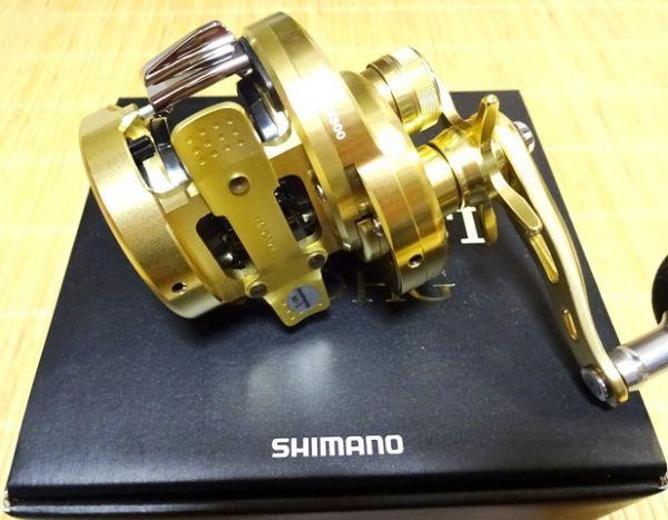 【中古 美品】シマノ 15オシアコンクエスト 200HG 右ハンドル_画像6