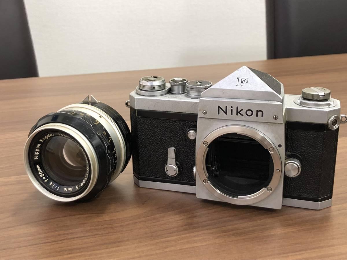 277★Nikon ニコン F フォトミックボディ レンズ NIKKOR-S 1:1.4 f=50mm★_画像2