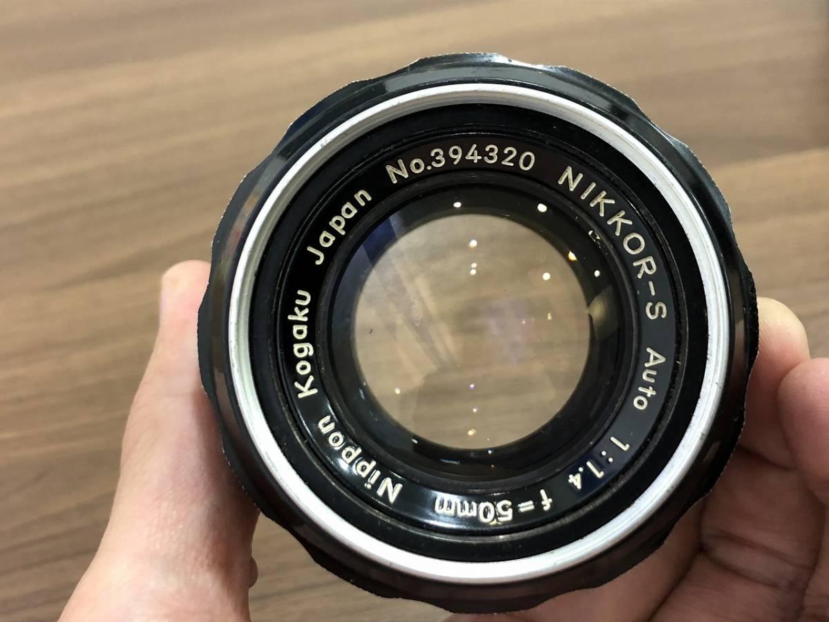277★Nikon ニコン F フォトミックボディ レンズ NIKKOR-S 1:1.4 f=50mm★_画像6