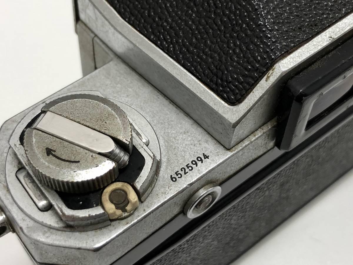 277★Nikon ニコン F フォトミックボディ レンズ NIKKOR-S 1:1.4 f=50mm★_画像9