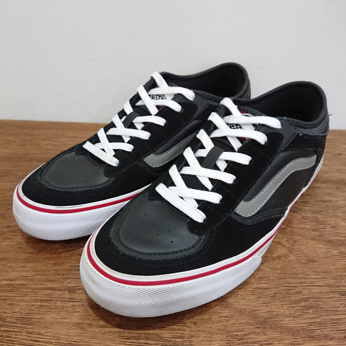 8ace049a2f0693   beautiful goods  VANS×INDEPENDENT ROWLEY PRO size US9(27.0cm) black Jeff  lorry Pro sneakers Vans Independent