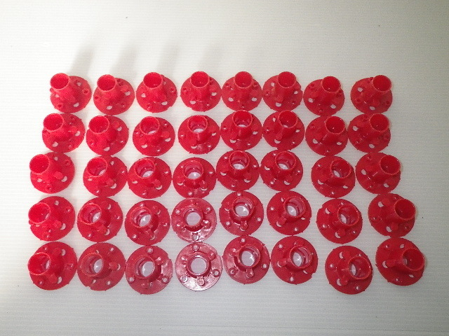 MIKADO カラーストロング 鉄のピン無し 樹脂釘無し 40個 I-6-2_画像2