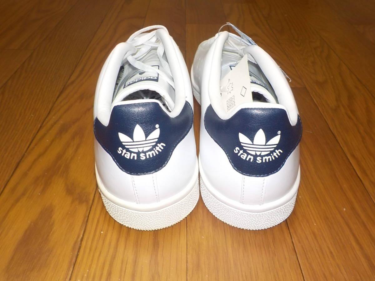 新品・adidas スタンスミス ⅡJ カラー:ホワイト×ネイビー、サイズ:JP 27.0cm_画像7