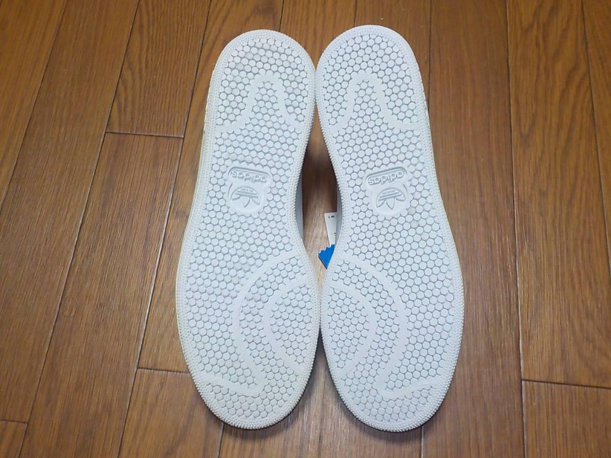 新品・adidas スタンスミス ⅡJ カラー:ホワイト×ネイビー、サイズ:JP 27.0cm_画像9