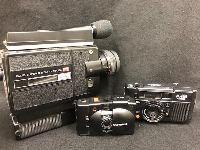 カメラまとめ オリンパス XA1、YASHICA ヤシカ FULL AUTOMATIC、ELMO エルモ