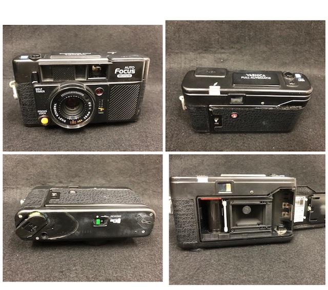 カメラまとめ オリンパス XA1、YASHICA ヤシカ FULL AUTOMATIC、ELMO エルモ _画像3