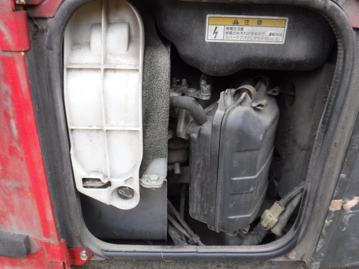 №2170 発電機 エアーマン HP2400SV 2.4KVA エンジン発電機 ジェネレータ インバーター発電機 中古難アリ 福岡_画像6