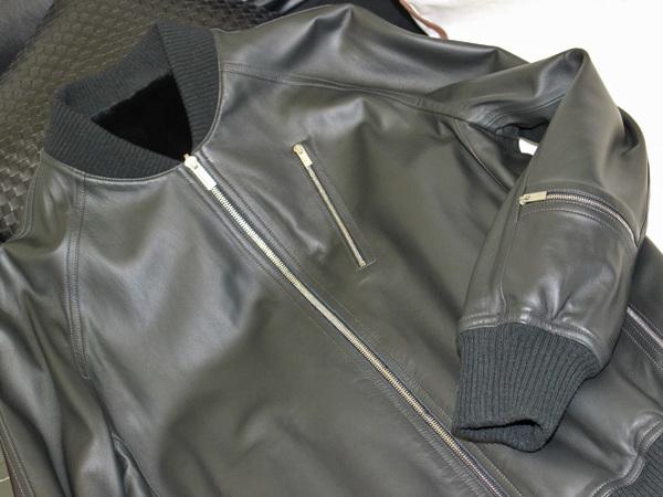 新品 HERMES 定価350万超 完売14FW 究極シェアードミンク毛皮Wフェイスレザーブルゾン メンズ46 ジャケット コート 収納バッグ付 本物 正規_画像7