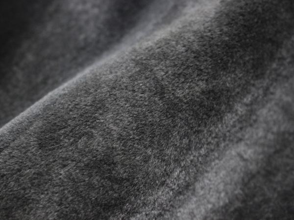 新品 HERMES 定価350万超 完売14FW 究極シェアードミンク毛皮Wフェイスレザーブルゾン メンズ46 ジャケット コート 収納バッグ付 本物 正規_画像4