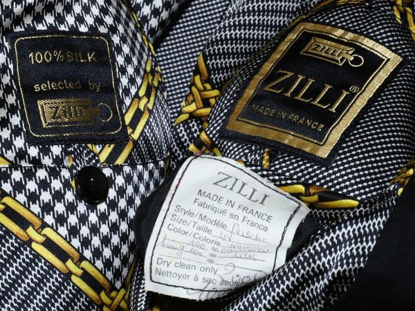 極上品 ジリ 最高級ZILLIシルク裏地 脱着ミンク毛皮ピュアカシミヤ100%ブルゾン PORSCHE 黒 ブラック 紳士服 ジャケット コート 本物 正規_画像9