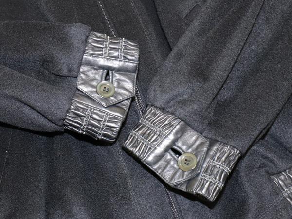 極上品 ジリ 最高級ZILLIシルク裏地 脱着ミンク毛皮ピュアカシミヤ100%ブルゾン PORSCHE 黒 ブラック 紳士服 ジャケット コート 本物 正規_画像5