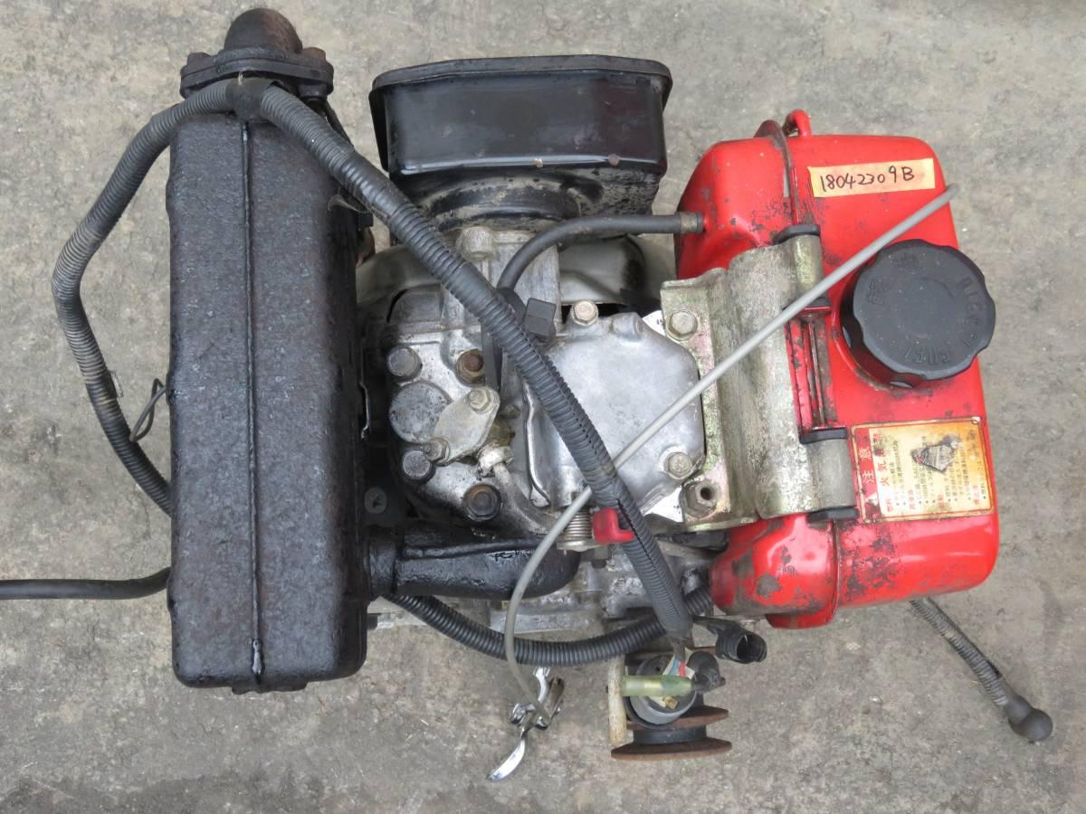 ヤンマー ディーゼル エンジン  L50-SECK ★セル付  実働品 5馬力 _画像8