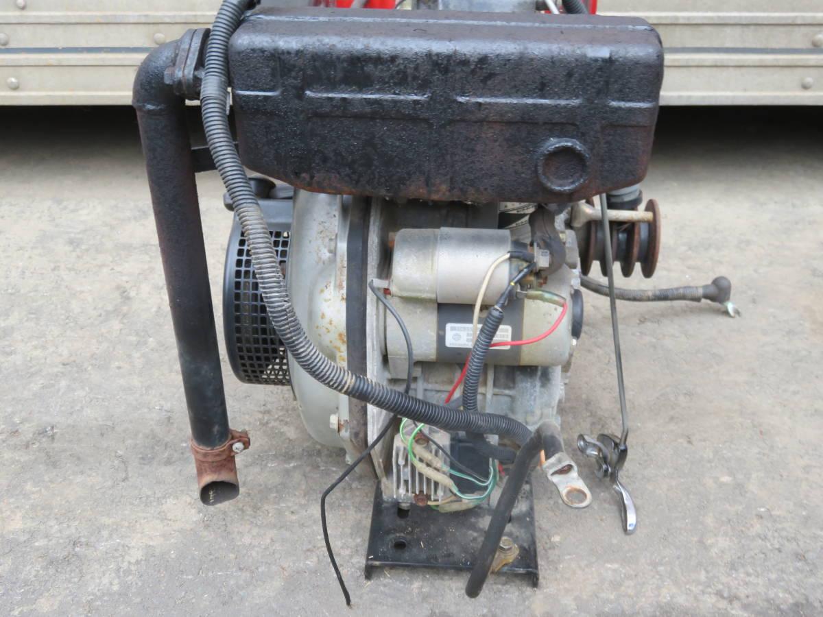 ヤンマー ディーゼル エンジン  L50-SECK ★セル付  実働品 5馬力 _画像5