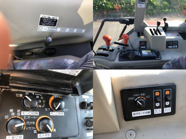 クボタ GM49 49馬力 4WD トラクタ エアコン キヤビン付_画像5