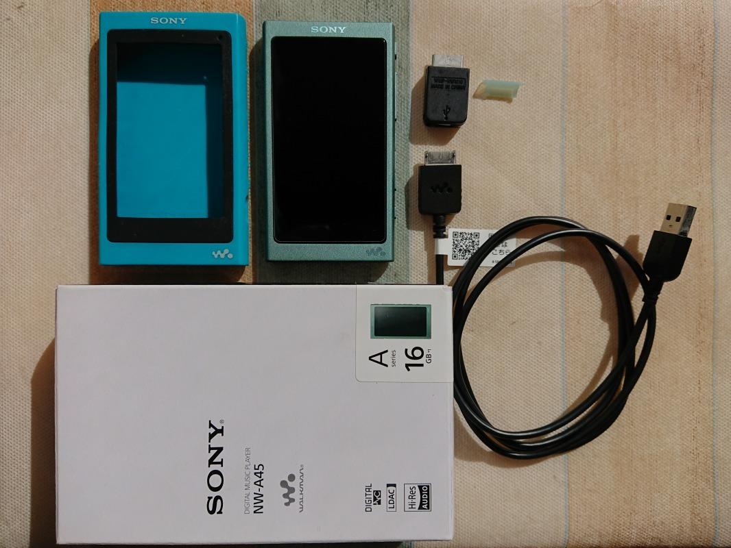 ソニー SONY WALKMAN NW-A45 16GB 美品