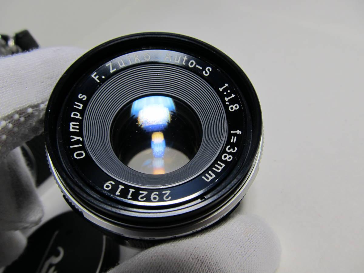 オリンパス PEN-FT 1:1.8 f=38mm 現状品_画像9
