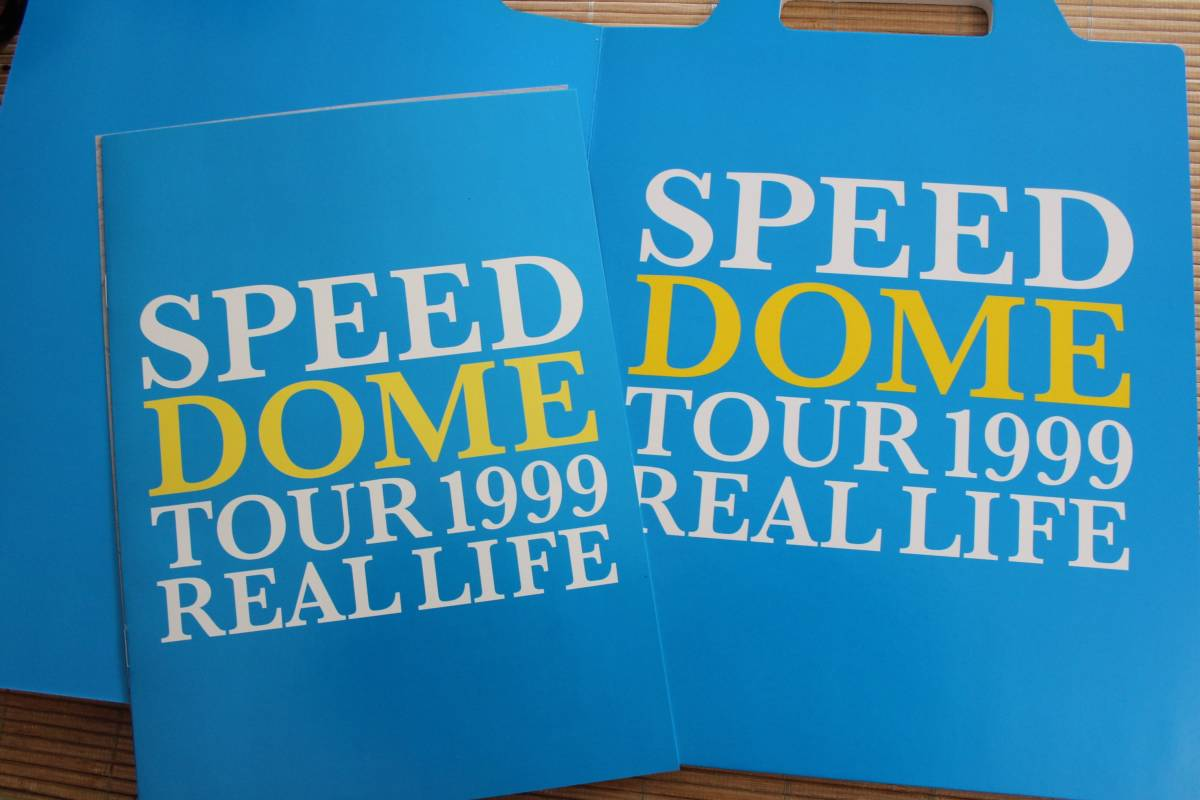 SPEED DOME TOUR 1999 REAL LIFE ツアーパンフ スピード 美品 送料188円~ 即決有_画像2