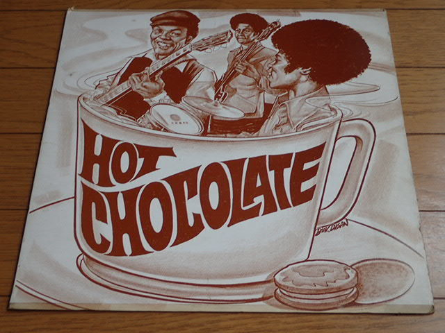 "超レア・オリジナル:US CO CO CLEVELAND dg ; "" HOT CHOCOLATE """
