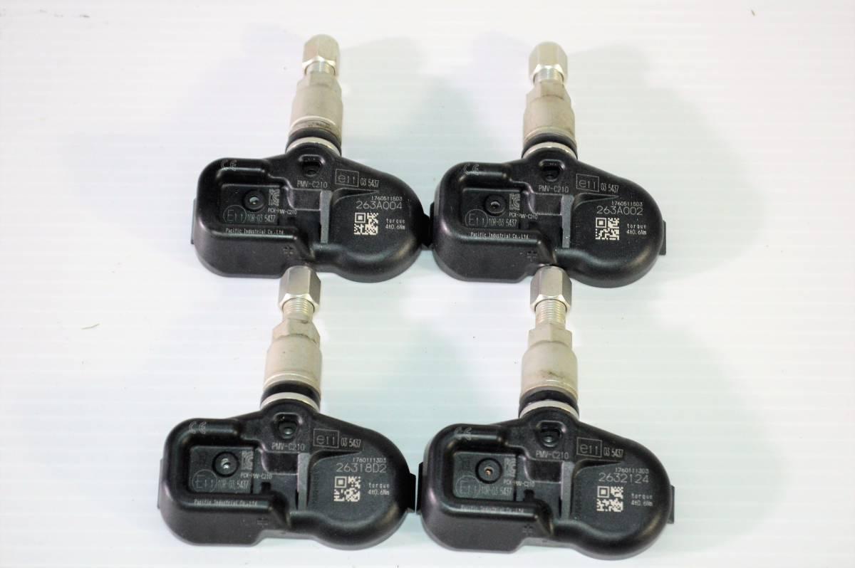 【新車外し】レクサス 純正 空気圧センサー TPMS PMV-C210 並行輸入車用? RC GS 納車外し_画像1