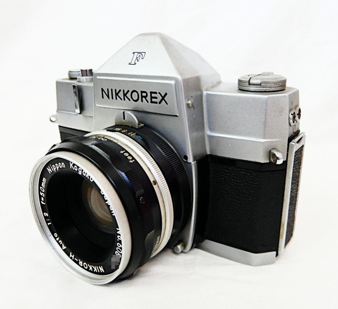 【JUNK品★1円~】 ニコン / Nikon NIKKOREX F 露出計 付 + NIKKOR-H Auto 1:2 f=50mm_画像2