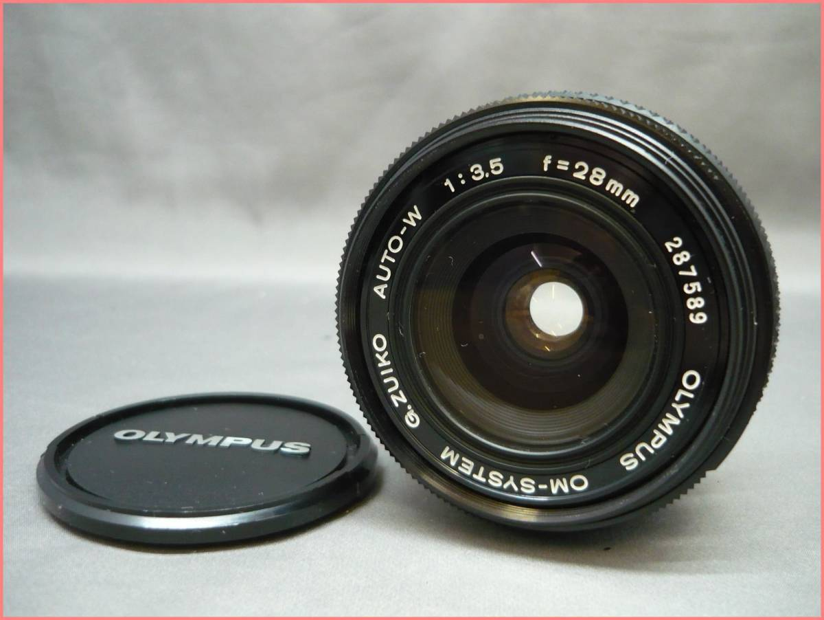 【ジャンク】OLYMPUS オリンパス OM10 /OM-SYSTEM F.ZUIKO AUTO-W 28mm F3.5/AUTO-T 135mm F3.5 セット_画像5