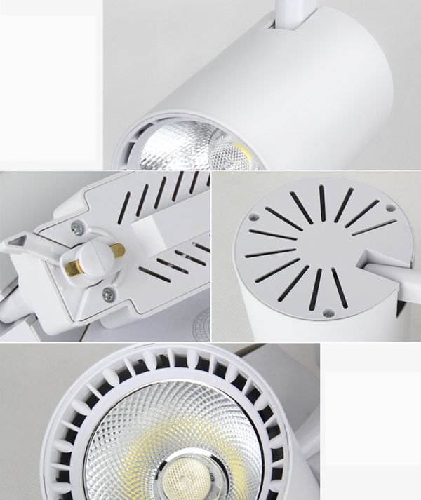 LED配線ダクトレール用 スポットライト 消費電力7W 60W相当 LEDスポットライト シーリングライト ライティン 食卓用_画像7