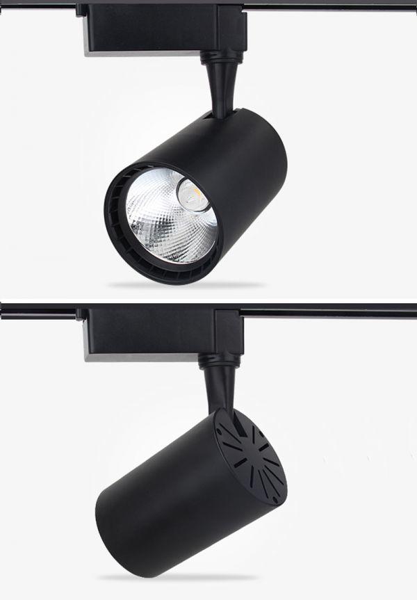 LED配線ダクトレール用 スポットライト 消費電力7W 60W相当 LEDスポットライト シーリングライト ライティン 食卓用_画像5