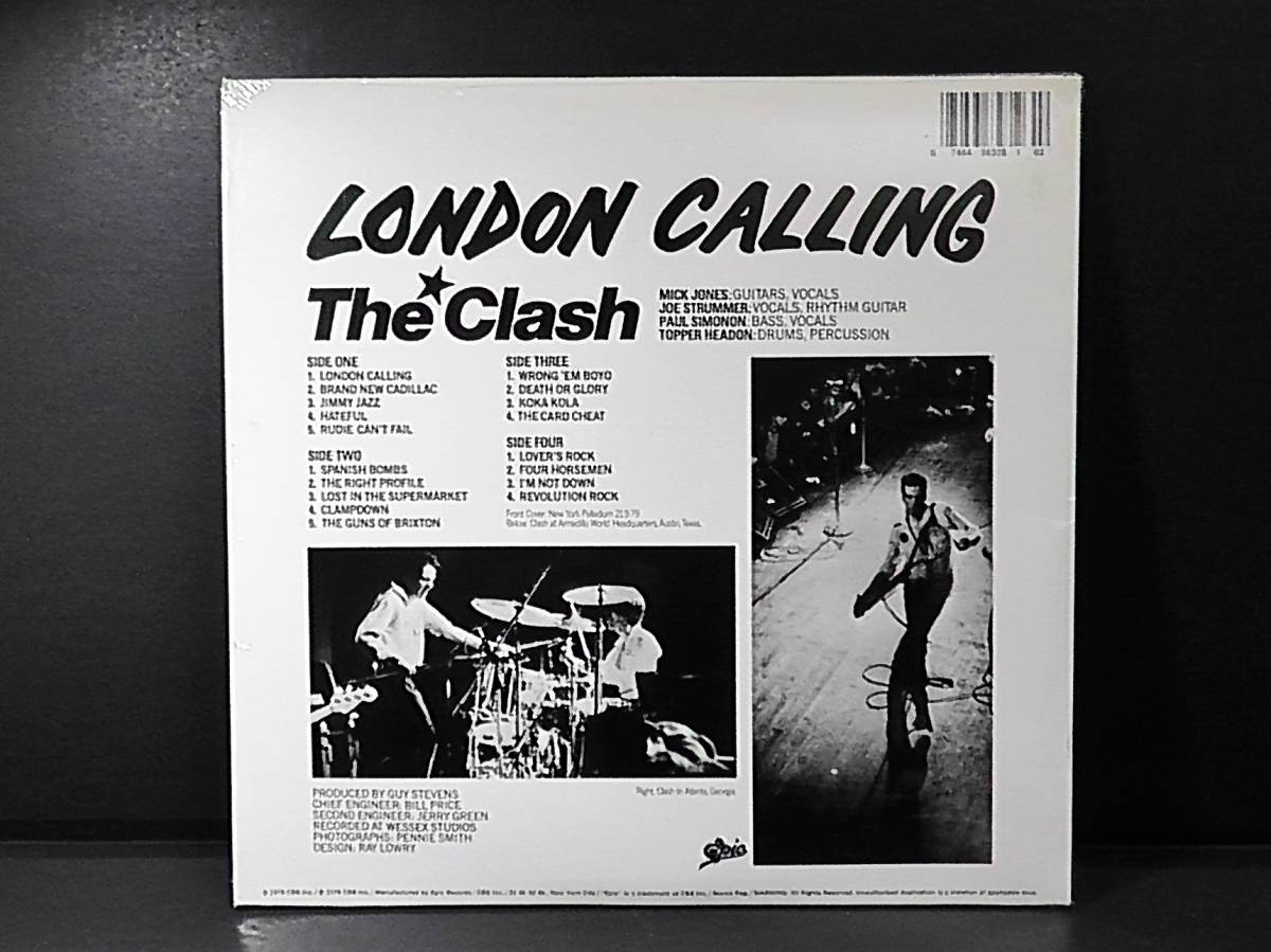 未開封◆LPレコード◆The Clashクラッシュ2枚組◆LONDON CALLING*Brand New Cadillac*ロンドンコーリング_画像2