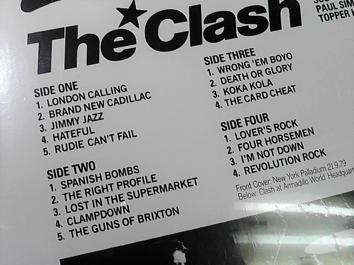 未開封◆LPレコード◆The Clashクラッシュ2枚組◆LONDON CALLING*Brand New Cadillac*ロンドンコーリング_画像4