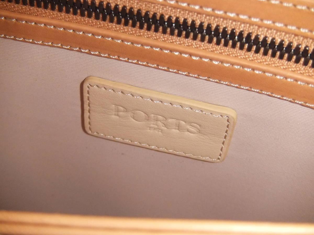 美品 PORTS1961 ポーツ1961 レザー クラッチバッグ セカンドバッグ 鞄 バッグ _画像6
