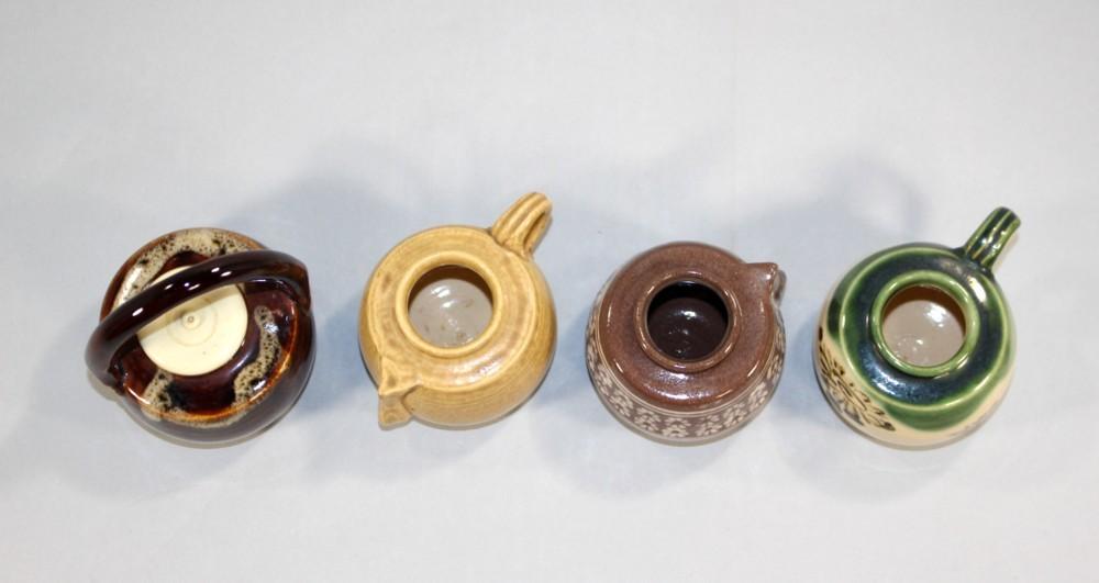 茶道具 四滴茶入 浅見与し三造◆rj24_画像3
