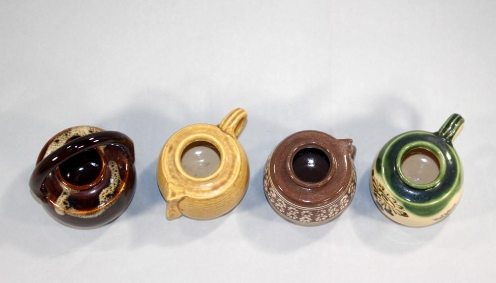 茶道具 四滴茶入 浅見与し三造◆rj24_画像4