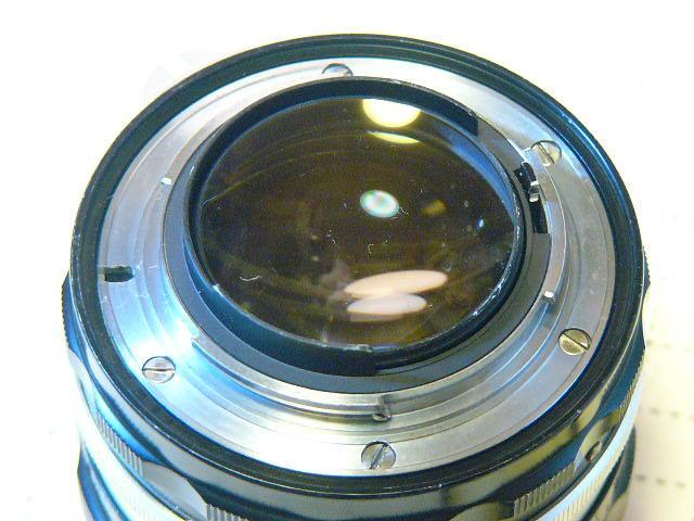 Nikon ニコン F 737番台 + フォトミックファインダーT + 1.4/50mm (実用・良品) ファインダー綺麗・レンズはおまけ/ジャンク扱い_画像7
