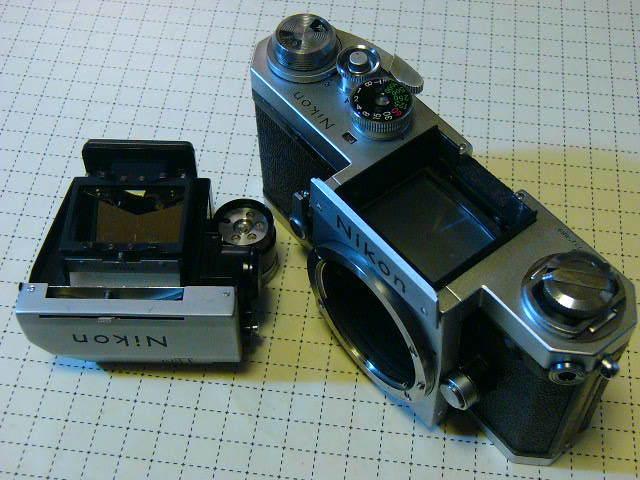 Nikon ニコン F 737番台 + フォトミックファインダーT + 1.4/50mm (実用・良品) ファインダー綺麗・レンズはおまけ/ジャンク扱い_画像2