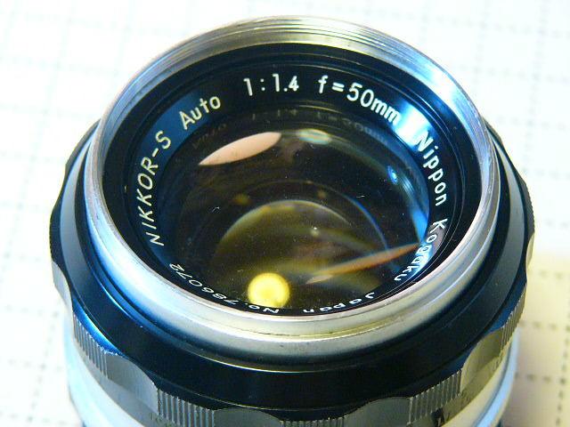 Nikon ニコン F 737番台 + フォトミックファインダーT + 1.4/50mm (実用・良品) ファインダー綺麗・レンズはおまけ/ジャンク扱い_画像6