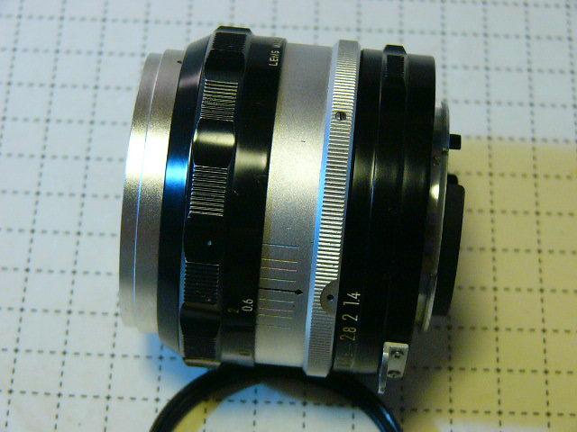 Nikon ニコン F 737番台 + フォトミックファインダーT + 1.4/50mm (実用・良品) ファインダー綺麗・レンズはおまけ/ジャンク扱い_画像5