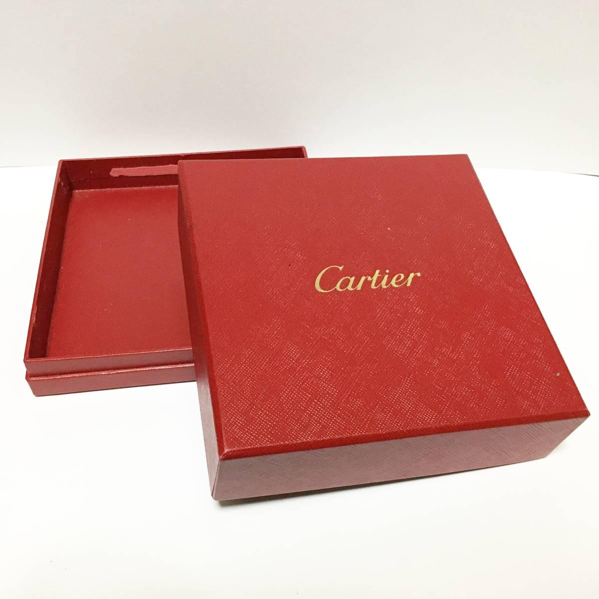 0076 カルティエ Cartier 箱 ケース ボックス 純正 ネックレス_画像5