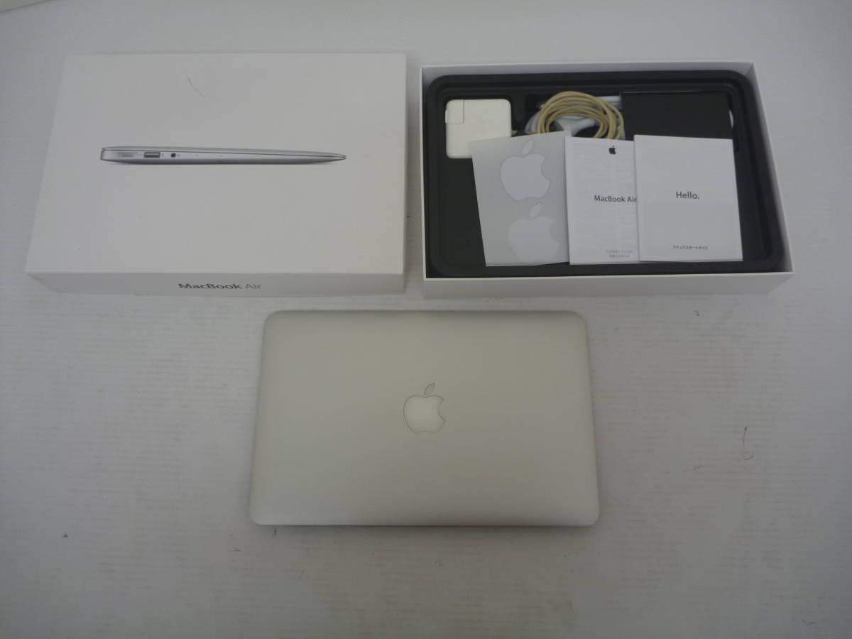 Apple MacBookAir 11インチ Corei7 8GB A146S MF067JA/Aジャンク 菅98