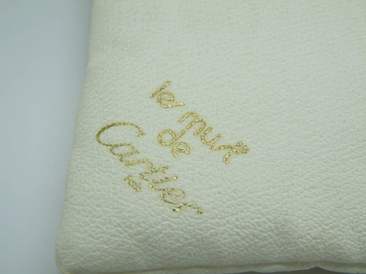 カルティエ les must de Cartier 表示 ディスプレイ クッション 時計のディスプレイなどに_画像4
