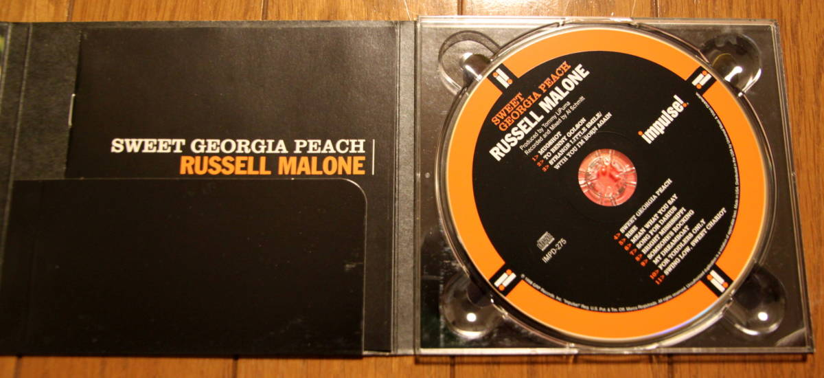 "Russell Malone ""Sweet Georgia Peach""_画像3"