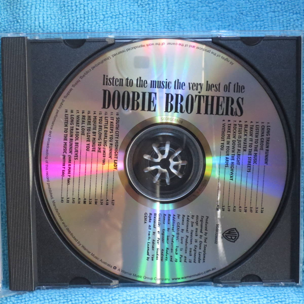 [CD] Listen To The Music ・ The Very Best Of The Doobie Brothers ☆ディスク美品_画像3