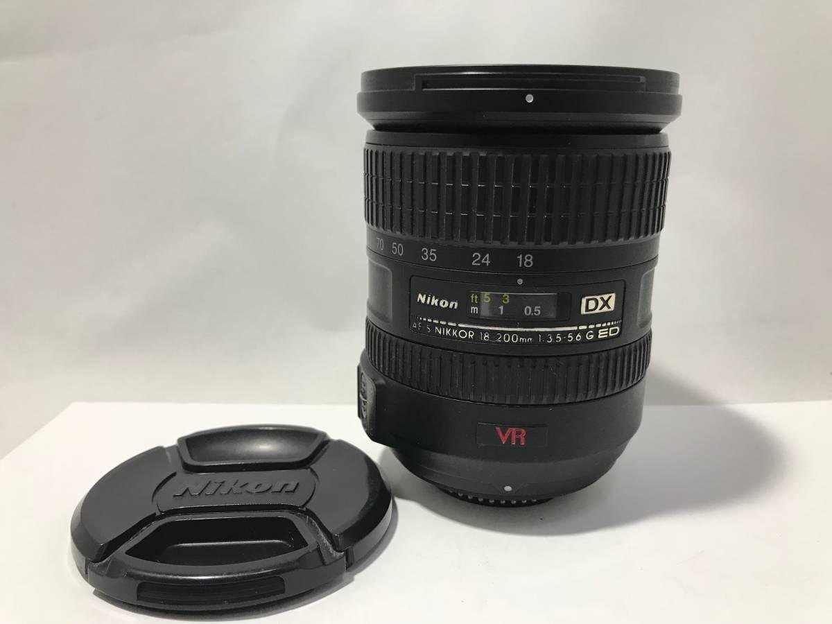 ジャンク Nikon ニコン AF-S DX VR NIKOR 18-200mm f3.5-5.6 ED【J03】